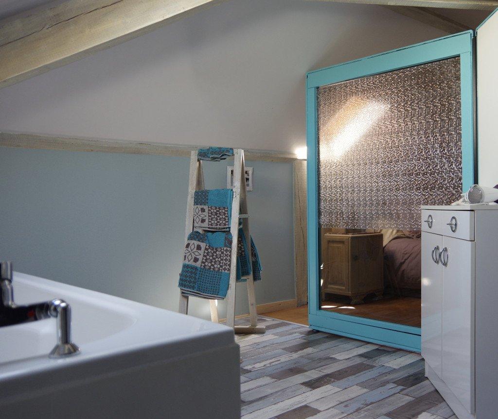 Salle de bains - chambre duo
